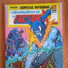 Cómics: ESPECIAL INVIERNO 1989 FACTOR X FORUM. Lote 296784163
