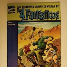 Cómics: LAS HISTORIAS JAMAS CONTADAS DE LOS 4 FANTASTICOS REED RICHARD PETER DAVID DUNCAN FEGREDO FORUM. Lote 296902813