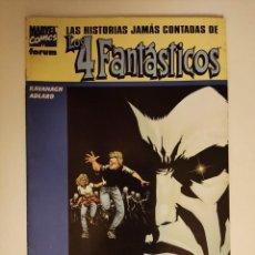 Cómics: LAS HISTORIAS JAMAS CONTADAS DE LOS 4 FANTASTICOS LOS STORM LA ANTORCHA HUMANA Y LA MUJER INVISIBLE. Lote 296902928