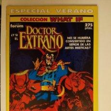 Cómics: WHAT IF ... ESPECIAL VERANO DOCTOR EXTRAÑO CONTIENE POSTER 141 DE DAN GREEN FORUM. Lote 296903828