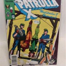 Cómics: COMIC FORUM PATRULLA X Nº 86. Lote 297104533
