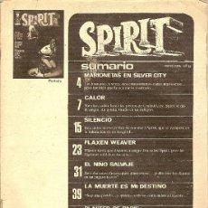 Cómics: 'SPIRIT', Nº 12. MAYO 1976. GARBO EDITORIAL. PERO LE FALTA PORTADA Y CONTRAPORTADA.. Lote 5395250