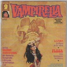Cómics: VAMPIRELLA Nº 5 GARBO, CON ESTEBAN MAROTO, RAMON TORRENTS , BILLY GRAHAM. Lote 9185261