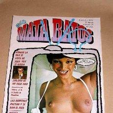 Cómics: MATA RATOS Nº 25. II ÉPOCA. GARBO OCTUBRE 1976. AGATA LYS POR OUTUMURO, REISER, KIM, J. L. MARTÍN.. Lote 24839471