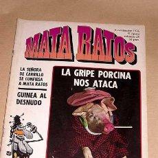 Cómics: MATA RATOS Nº 29. II ÉPOCA. GARBO NOVIEMBRE 1976. GOTLIB, KIM, J. L. MARTÍN, VIVES, MANEL, ROMEU TOM. Lote 24839465