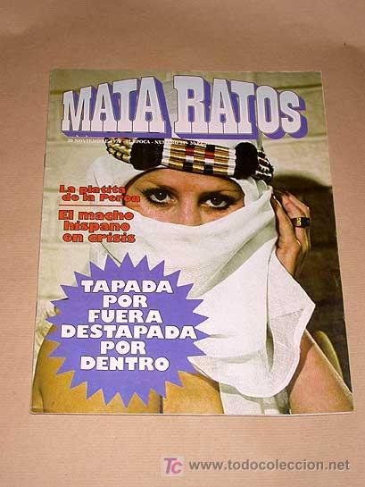 MATA RATOS Nº 31. II ÉPOCA. GARBO NOVIEMBRE 1976. GOTLIB, J. L. MARTÍN, VIVES, MANEL ROMEU TOM, DINO (Tebeos y Comics - Garbo)