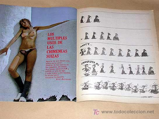 Cómics: MATA RATOS Nº 22. II ÉPOCA. GARBO SEPTIEMBRE 1976. REISER, KIM, J. L. MARTÍN, MANEL, TOM, VIVES. - Foto 2 - 24839464