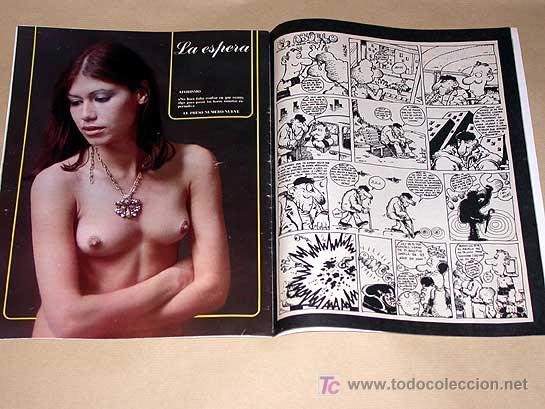 Cómics: MATA RATOS Nº 31. II ÉPOCA. GARBO NOVIEMBRE 1976. GOTLIB, J. L. MARTÍN, VIVES, MANEL ROMEU TOM, DINO - Foto 2 - 24839467