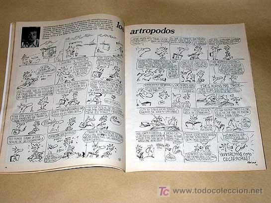 Cómics: MATA RATOS Nº 1. II ÉPOCA. GARBO DICIEMBRE 1975. REISER, ROMEU, KIM, CARLOS GIMÉNEZ, TOM, VICAR. - Foto 3 - 24839461