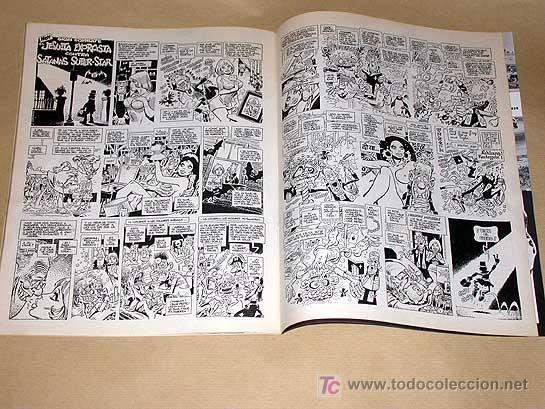 Cómics: MATA RATOS Nº 1. II ÉPOCA. GARBO DICIEMBRE 1975. REISER, ROMEU, KIM, CARLOS GIMÉNEZ, TOM, VICAR. - Foto 5 - 24839461