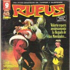 Cómics: RUFUS - RELATOS GRAFICOS DE TERROR Y SUSPENSE - Nº 55 - EDICIONES GARBO 1973. Lote 13052188