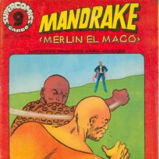 Cómics: MANDRAKE (SUPERCOMICS GARBO, NÚM. 5). Lote 22172498