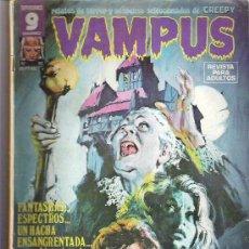 Cómics: VAMPUS - EL ASESINO DEL HACHA *** Nº62 OCT 1976. Lote 11596607