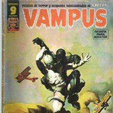 Cómics: VAMPUS - UNOS SINIESTROS DEMONIOS ** Nº 61 1976. Lote 14893390