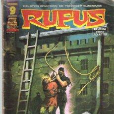 Cómics: RUFUS - EL VERDUGO DEL INFIERNO ^***Nº 41 OCT 1976. Lote 11596612