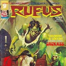 Cómics: RUFUS Nº 9 - RELATOS DE TERROR Y SUSPENSE, EDITORIAL GARBO. AÑO 1975, 66 PÁGINAS. Lote 37427369
