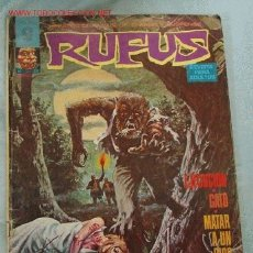 Cómics: RUFUS. Lote 5649587