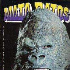 Cómics: REVISTA MATA RATOS - Nº 38 - AÑO 1977 - 2ª EPOCA. Lote 27224155