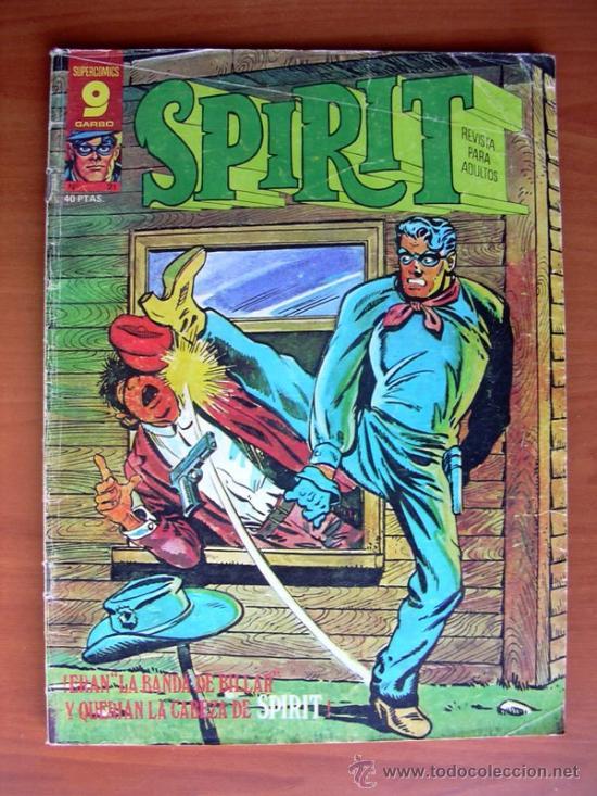 SPIRIT, Nº 21 - PUBLICADO POR GARBO EDITORIAL EN 1977 (Tebeos y Comics - Garbo)