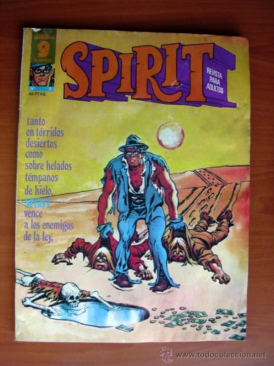 SPIRIT, Nº 5 - PUBLICADO POR GARBO EDITORIAL EN 1975 (Tebeos y Comics - Garbo)