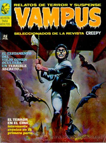 VAMPUS Nº 1 (Tebeos y Comics - Garbo)