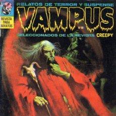 Cómics: VAMPUS Nº 19 (PÓSTER DE DE LA ROSA,GRAY MORROW, STEVE DITKO, ...). Lote 10412403