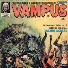Cómics: VAMPUS Nº 21 (ABELLÁN, JEFF JONES, SEVERÍN, GEORGE TUSKA,...). Lote 10412540