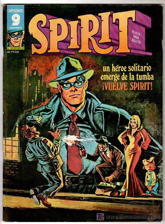 SPIRIT Nº 1, EDITORIAL GARBO 1975, WILL EISNER, MUY BUEN ESTADO (Tebeos y Comics - Garbo)