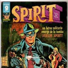 Cómics: SPIRIT Nº 1, EDITORIAL GARBO 1975, WILL EISNER, MUY BUEN ESTADO. Lote 18024578