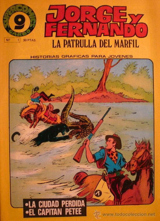JORGE Y FERNANDO / LA PATRULLA DEL MARFIL Nº 1 (Tebeos y Comics - Garbo)