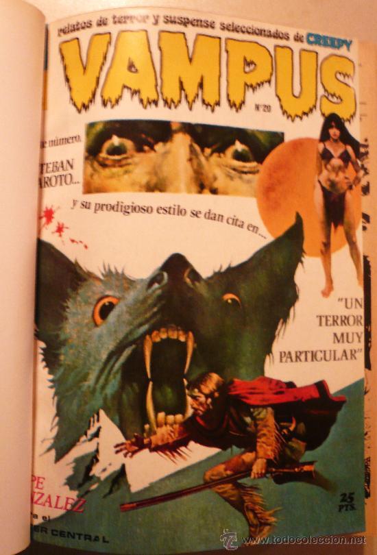 REVISTA VAMPUS / 12 NUMEROS / ENCUADERNADOS (Tebeos y Comics - Garbo)
