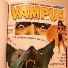 Cómics: REVISTA VAMPUS / 12 NUMEROS / ENCUADERNADOS. Lote 35782832