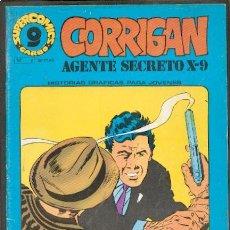 Cómics: CORRIGAN AGENTE SECRETO X-9 Nº6,ED.GARBO. Lote 25982047