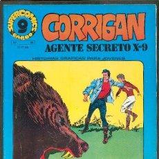 Cómics: CORRIGAN AGENTE SECRETO X-9 Nº24,ED.GARBO. Lote 25857781