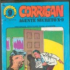 Cómics: CORRIGAN AGENTE SECRETO X-9 Nº15,ED.GARBO. Lote 25982045
