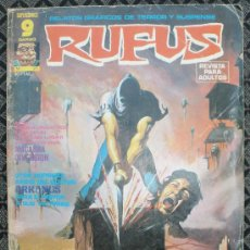 Cómics: RUFUS # 27 EDITORIAL GARBO - CLC. Lote 20759510