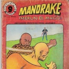 Cómics: MANDRAKE MERLIN EL MAGO Nº 5, SUPERCOMICS GARBO. Lote 21586692