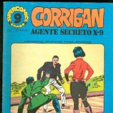 Cómics: SUPER COMICS GARBO. CORRIGAN. AGENTE SECRETO X-9. Nº 12. ESCLAVITUD CLANDESTINA. EL CACIQUE. . Lote 18064009