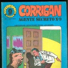 Cómics: SUPER COMICS GARBO. CORRIGAN. AGENTE SECRETO X-9. Nº 15. LOS GLADIADORES. EL TOTEM. VENGANZA.. Lote 18064030