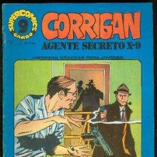 Cómics: SUPER COMICS GARBO. CORRIGAN. AGENTE SECRETO X-9. Nº 3. FAMILIA PELIGROSA. PERSECUCION MORTAL.. Lote 18064051