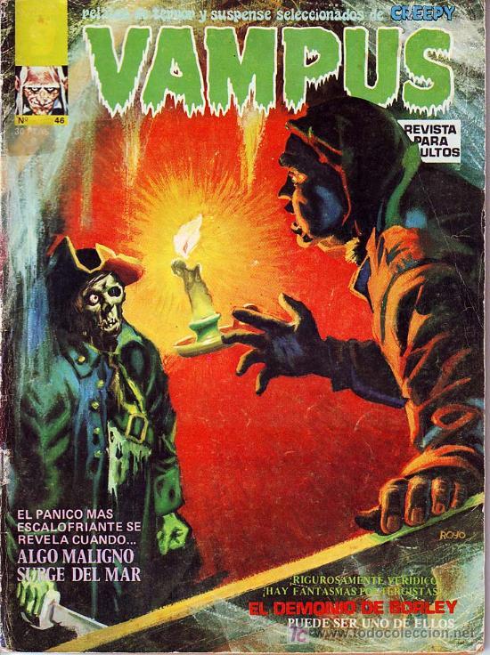 VAMPUS Nº 46 (Tebeos y Comics - Garbo)