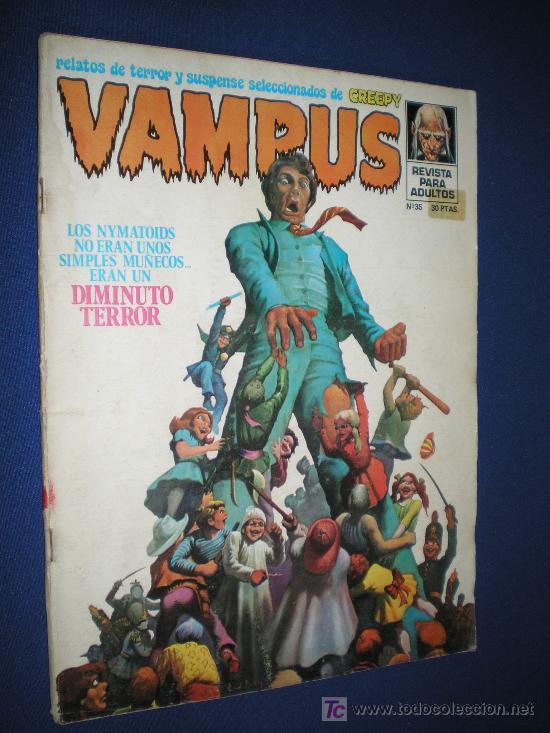 VAMPUS Nº 35 - INCLUYE POSTER DE VERDUGO (Tebeos y Comics - Garbo)