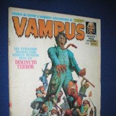 Cómics: VAMPUS Nº 35 - INCLUYE POSTER DE VERDUGO. Lote 19020121