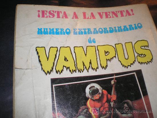 Cómics: VAMPUS Nº 35 - INCLUYE POSTER DE VERDUGO - Foto 2 - 19020121