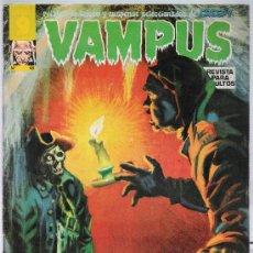 Cómics: VAMPUS Nº 46. CONTIENE EL POSTER CENTRAL.. Lote 20283368