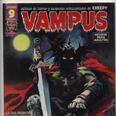Cómics: VAMPUS Nº 48. SIN POSTER CENTRAL.. Lote 20486479