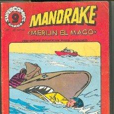 Cómics: SUPER COMICS GARBO, MANDRAKE Nº 14, EDITORIAL GARBO. Lote 22952965