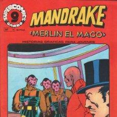 Cómics: MANDRAKE 11 MERLIN EL MAGO GARBO. Lote 22982363