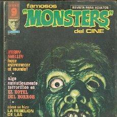 Cómics: FAMOSOS MONSTERS DEL CINE Nº 5, EDITORIAL GARBO. Lote 27165047