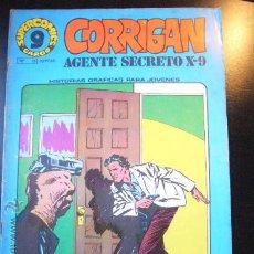 Cómics: SUPER COMICS GARBO CORRIGAN AGENTE SECRETO X-9. Nº 15 ARX64. Lote 28325498
